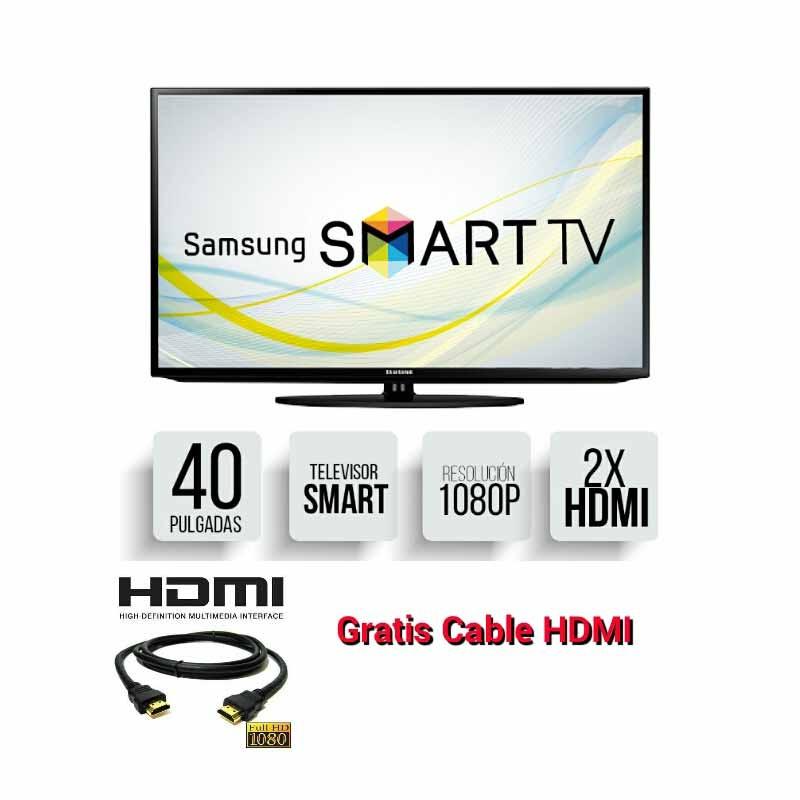 smart tv samsung 40 serie j modelo 520d 1080p 1 a o garantia. Black Bedroom Furniture Sets. Home Design Ideas